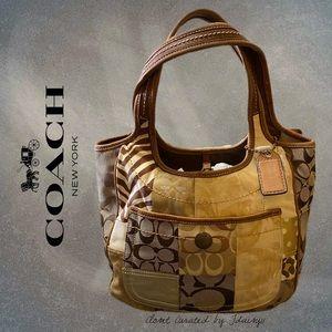 Coach | Ergo Beige Patchwork Hobo Handbag #2